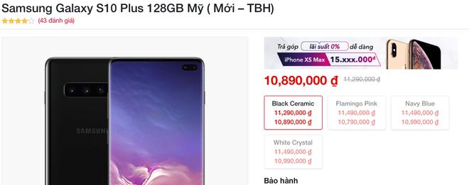 Đón đầu Galaxy S20, Galaxy S10 sập giá chỉ còn 10 triệu đồng - Ảnh 2.