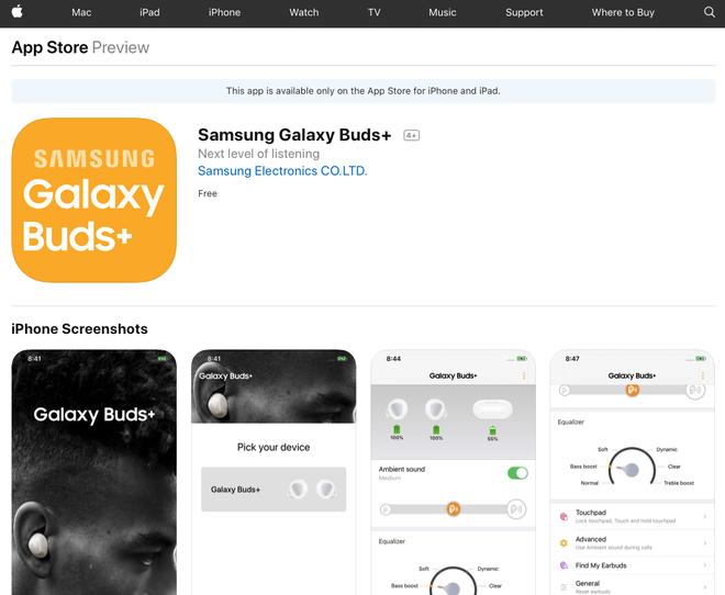 Samsung công bố sản phẩm mới trên website của... Apple - Ảnh 1.