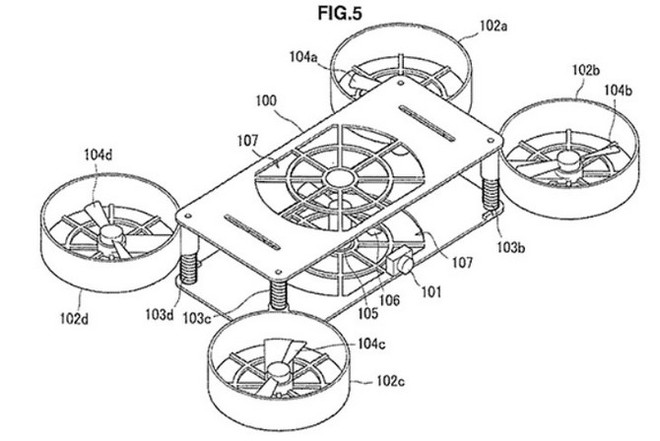 Sony đang bí mật nghiên cứu drone có thể gập gọn, hỗ trợ chụp nhóm đông người dễ dàng? - Ảnh 1.