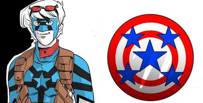 Truyện tranh Marvel giới thiệu siêu nhân ăn hại: Thần tượng Cap nhưng chỉ phá hoại là giỏi - Ảnh 1.