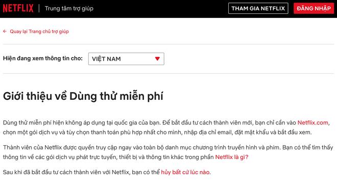 Netflix ngừng cho dùng thử miễn phí tại Việt Nam: Hệ quả của việc bị trục lợi? - Ảnh 2.
