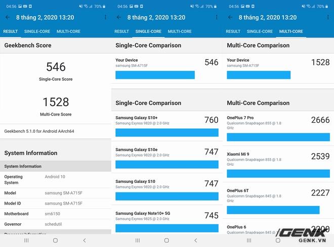 Đánh giá hiệu năng Galaxy A71: Sự nâng cấp đáng giá từ Galaxy A51 - Ảnh 4.