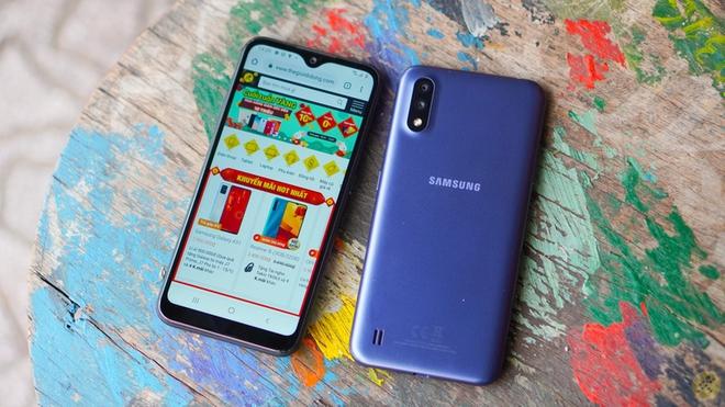 Sau Galaxy A10, đến lượt Galaxy A01 lãnh nhiệm vụ giúp Samsung giành lấy thị phần từ tay các đối thủ Trung Quốc - Ảnh 3.