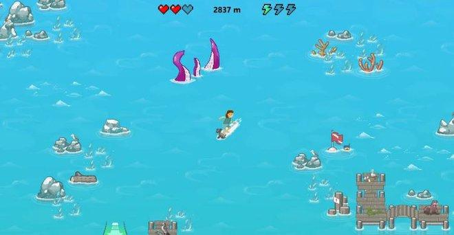 Trình duyệt Microsfot Edge cũng sắp có game khủng long mất mạng của riêng mình: trò lướt sóng với đồ họa vượt trội và tính năng ưu việt - Ảnh 2.