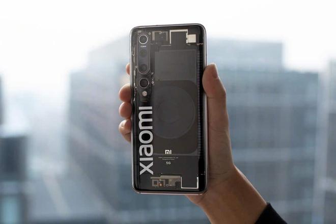 Lộ ảnh thực tế Xiaomi Mi 10 Explorer Edition với mặt lưng trong suốt - Ảnh 1.