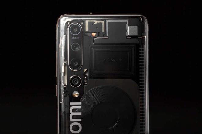 Lộ ảnh thực tế Xiaomi Mi 10 Explorer Edition với mặt lưng trong suốt - Ảnh 2.
