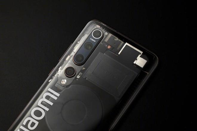 Lộ ảnh thực tế Xiaomi Mi 10 Explorer Edition với mặt lưng trong suốt - Ảnh 4.