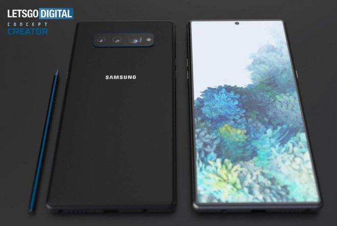 Hình ảnh thiết kế Galaxy Note 20 - Ảnh 2.