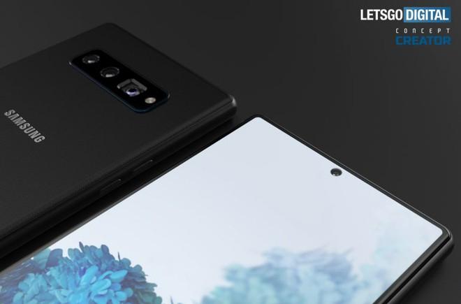 Hình ảnh thiết kế Galaxy Note 20 - Ảnh 4.