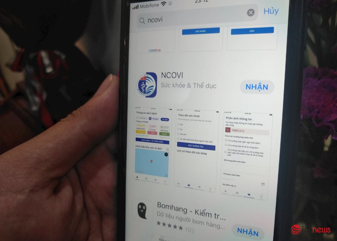 Ứng dụng NCOVI hỗ trợ khai báo y tế toàn dân đã chính thức có mặt trên iOS - Ảnh 1.