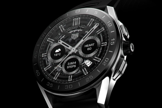 Hãng đồng hồ Thụy Sĩ TAG Heuer ra mắt smartwatch siêu sang giá 1.800 USD - Ảnh 1.