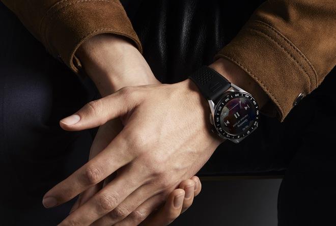 Hãng đồng hồ Thụy Sĩ TAG Heuer ra mắt smartwatch siêu sang giá 1.800 USD - Ảnh 5.