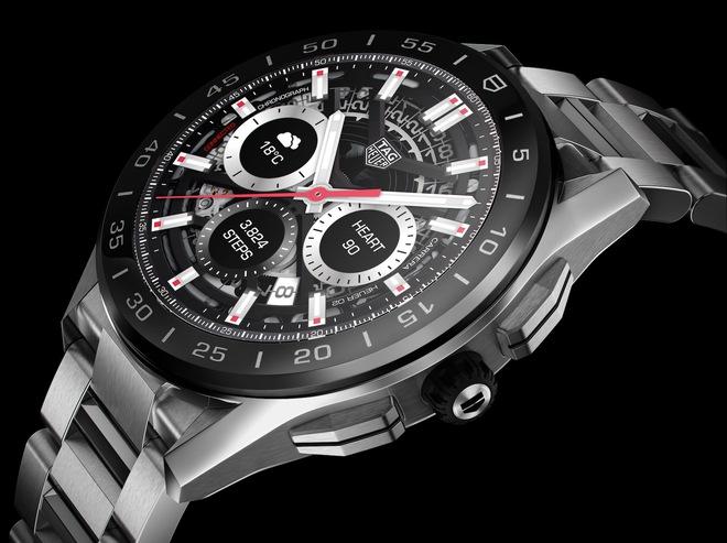 Hãng đồng hồ Thụy Sĩ TAG Heuer ra mắt smartwatch siêu sang giá 1.800 USD - Ảnh 6.