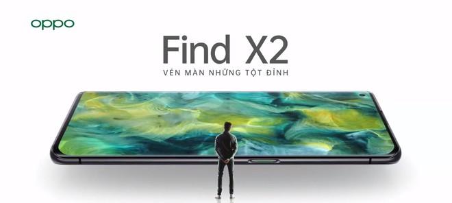 OPPO Find X2 ra mắt tại Việt Nam, smartphone đầu tiên có 5G, giá 23.9 triệu đồng - Ảnh 1.