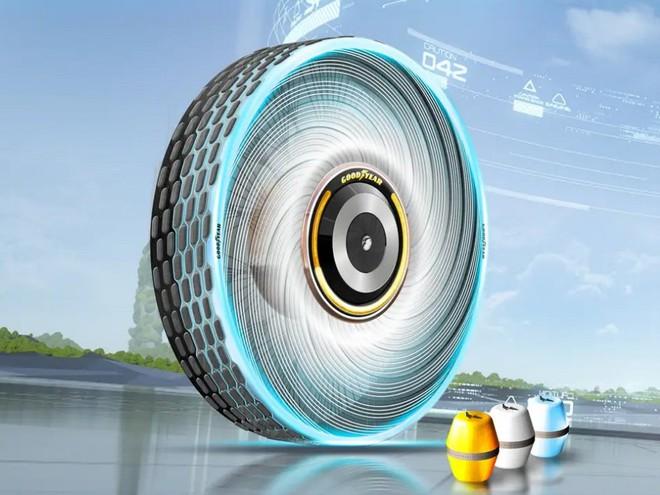 Goodyear phát minh ra loại lốp mới không bao giờ cần thay, mặt lốp có khả năng tự tái sinh - Ảnh 3.