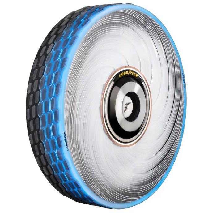 Goodyear phát minh ra loại lốp mới không bao giờ cần thay, mặt lốp có khả năng tự tái sinh - Ảnh 1.