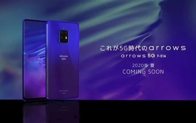 Smartphone Nhật cao cấp Fujitsu Arbow 5G lộ diện trước ngày ra mắt - Ảnh 1.