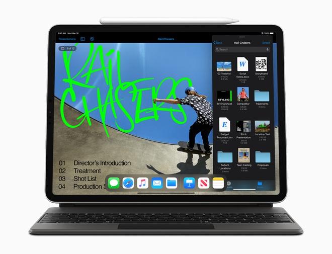 Apple ra mắt iPad Pro 2020: Chip A12Z Bionic, camera mới với máy quét LiDAR, bàn phím có bàn rê như laptop - Ảnh 9.