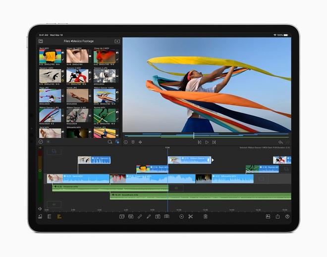 Apple ra mắt iPad Pro 2020: Chip A12Z Bionic, camera mới với máy quét LiDAR, bàn phím có bàn rê như laptop - Ảnh 2.