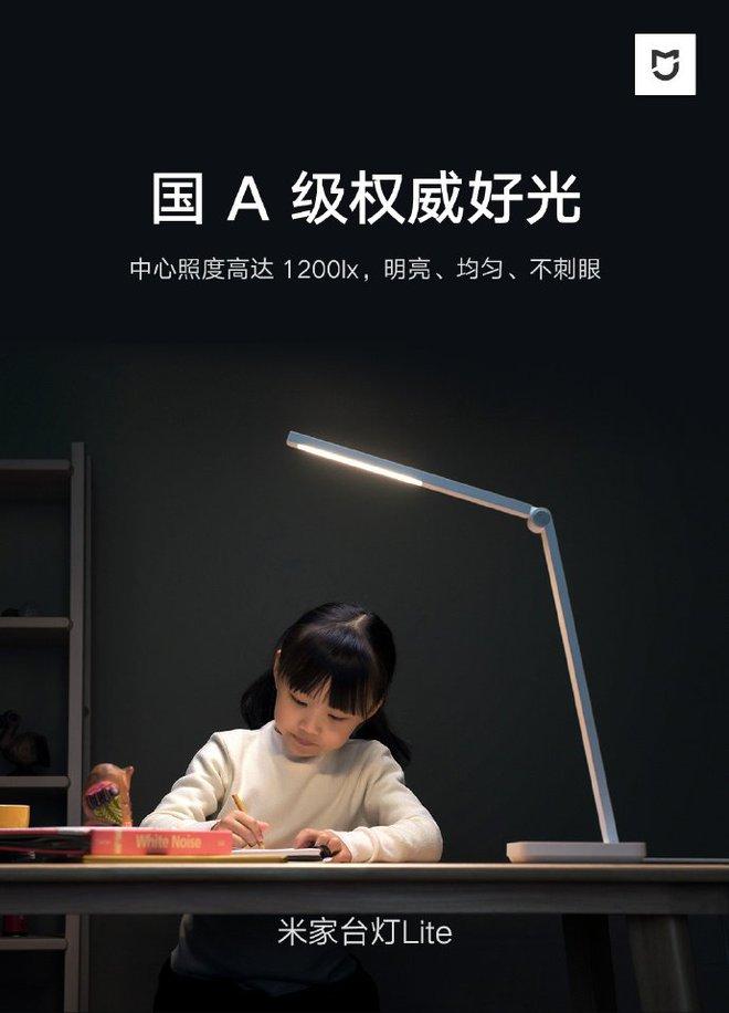 Xiaomi ra mắt đèn để bàn MIJIA Desk Lamp Lite giá chỉ 11 USD - Ảnh 1.