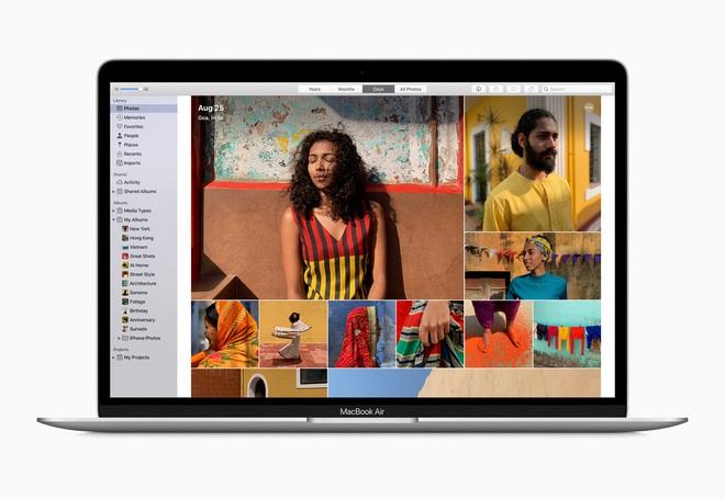 MacBook Air 2020 ra mắt: CPU Intel thế hệ 10, bàn phím cắt kéo mới, bỏ bản 128GB, giá chỉ từ 999 USD - Ảnh 1.
