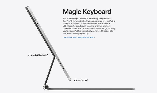 Apple ra mắt iPad Pro 2020: Chip A12Z Bionic, camera mới với máy quét LiDAR, bàn phím có bàn rê như laptop - Ảnh 7.