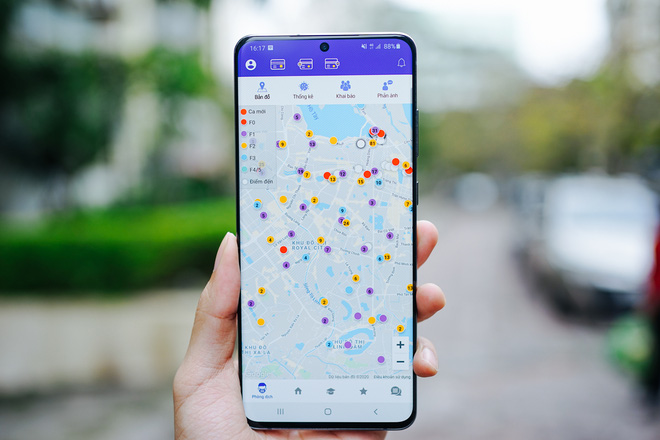 Hà Nội ra mắt ứng dụng giám sát người cách ly bằng GPS, tích hợp bản đồ online hiển thị địa bàn có người nghi nhiễm COVID-19 - Ảnh 2.