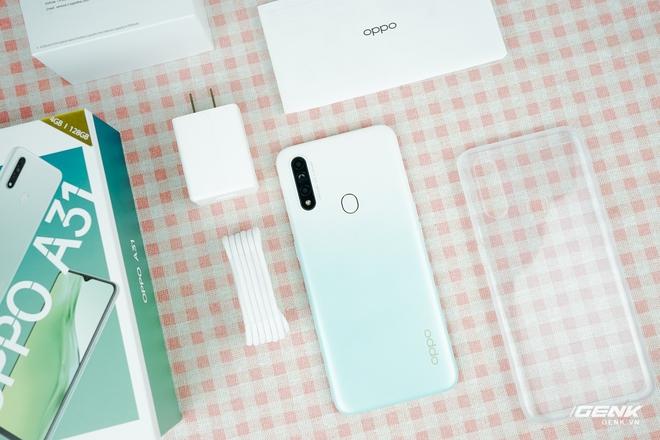Đây là OPPO A31: Thiết kế trẻ trung, cũng có camera macro bắt trend, giá 4,49 triệu - Ảnh 1.