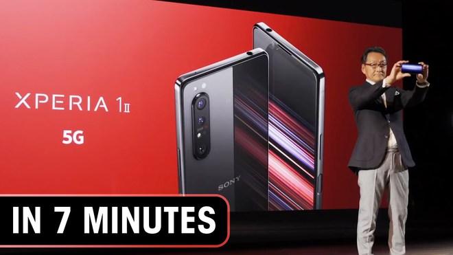 Đặt giá 1099 USD cho Xperia 1 II, Sony có hoang tưởng trong cuộc chiến chống Samsung và Apple? - Ảnh 1.