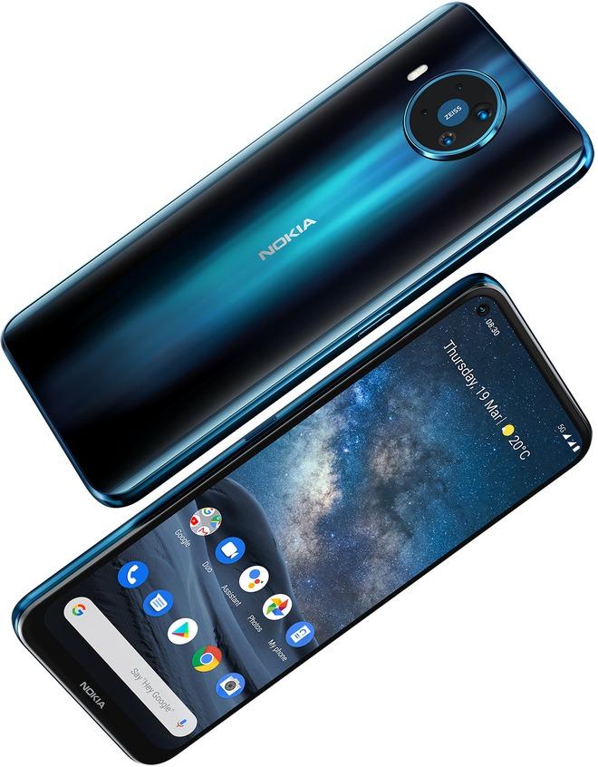 Nokia 8.3 5G - smartphone 5G đầu tiên của HMD ra mắt - Ảnh 1.