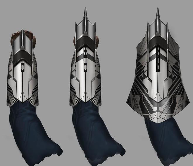 Bản vẽ concept Infinity War cho thấy đáng lẽ Cap sở hữu chiếc khiên vừa ngầu lòi, vừa nguy hiểm chết người thế này đây - Ảnh 1.