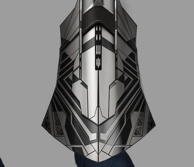 Bản vẽ concept Infinity War cho thấy đáng lẽ Cap sở hữu chiếc khiên vừa ngầu lòi, vừa nguy hiểm chết người thế này đây - Ảnh 2.