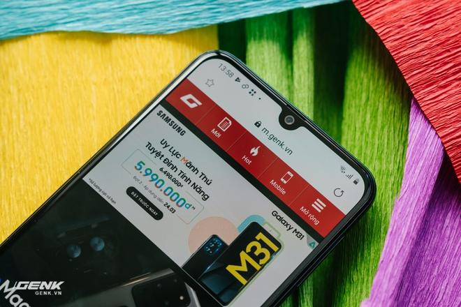 Đánh giá Samsung Galaxy M31: Đập tiền vào pin! - Ảnh 19.