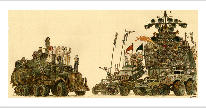Anh họa sĩ dành 45 tiếng để vẽ bức tranh Endgame siêu to khổng lồ: Ai cũng mỉm cười thân thiện chứ không đánh nhau tán loạn như trên phim - Ảnh 3.