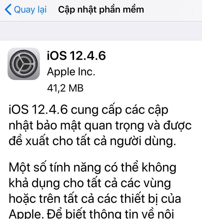 Ra mắt đã 6-7 năm, iPhone 5s, iPhone 6 lại vừa được Apple cập nhật iOS mới - Ảnh 1.