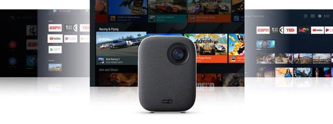 Xiaomi ra mắt máy chiếu chạy Android TV, tích hợp Google Assistant, giá chỉ 9.9 triệu đồng - Ảnh 1.