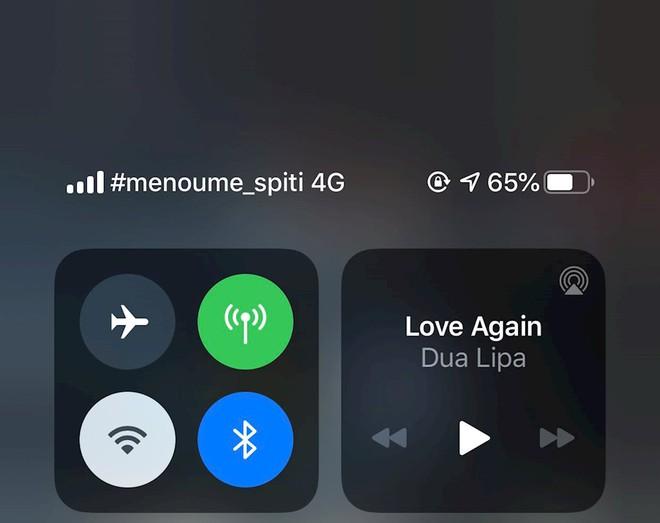 """Nhà mạng thế giới hiển thị thông điệp """"ở nhà"""" trên iPhone - Ảnh 6."""