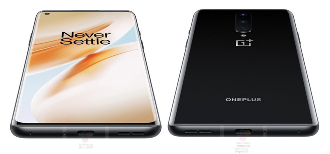 OnePlus 8 lộ ảnh render: Màn hình 90Hz, thiết kế đục lỗ, 3 camera sau, sạc nhanh 30W, ra mắt 15/4 - Ảnh 2.