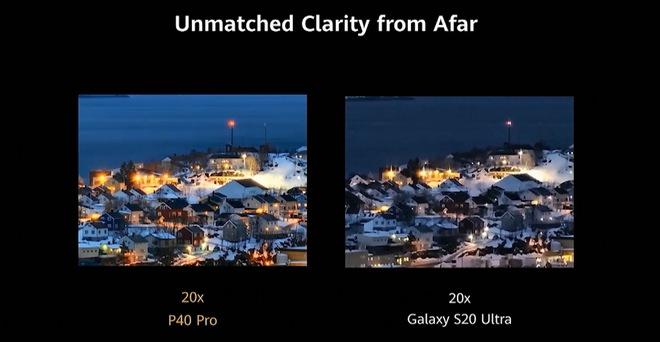Huawei dìm iPhone 11 Pro Max và Galaxy S20 Ultra như thế nào trong sự kiện ra mắt P40 Pro? - Ảnh 13.