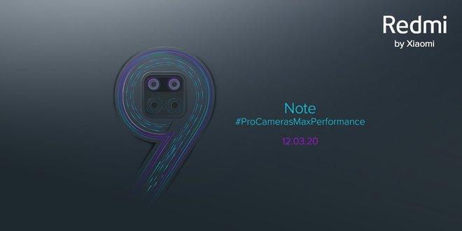 Đây là Redmi Note 9: Màn hình đục lỗ, cụm 4 camera sau hình vuông? - Ảnh 3.