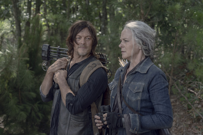 Không liên quan đến nhau nhưng Marvel Studios lại đang gây ảnh hưởng đến kịch bản của The Walking Dead - Ảnh 1.