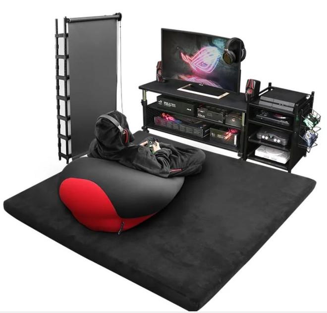 Công ty Nhật Bản ra mắt mẫu giường gaming độc đáo giúp người dùng vừa nằm vừa cày game thoải mái, giá từ 7 triệu đồng - Ảnh 9.