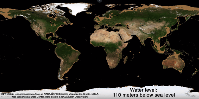 Bề mặt Trái Đất sẽ trông như thế nào nếu các đại dương bị hút cạn nước biển? - Ảnh 2.