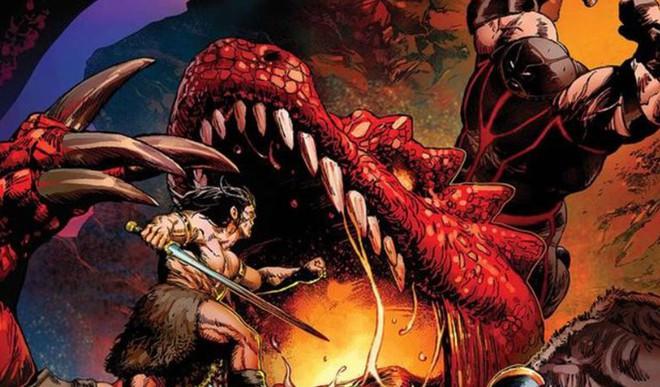 Phiên bản Avengers hoang dại tuyển thêm phản diện Juggernaut để đánh nhau với rồng - Ảnh 1.