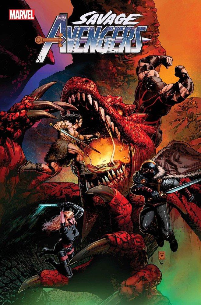 Phiên bản Avengers hoang dại tuyển thêm phản diện Juggernaut để đánh nhau với rồng - Ảnh 5.