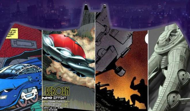 10 thiết kế xe Batmobile quái gở nhất, có chiếc dị đến nỗi Batman chưa dám mang ra đường lần nào - Ảnh 1.