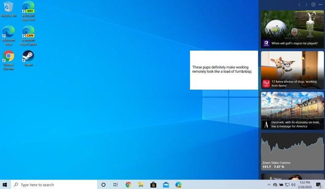 Microsoft giới thiệu thanh Taskbar cung cấp tin tức thú vị trên Windows 10 và bạn có thể thử ngay từ bây giờ - Ảnh 5.