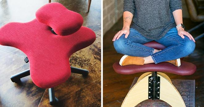 Soul Seat: Chiếc ghế đa-zi-năng cho người thích ngồi xổm, bắt chéo chân và... quỳ - Ảnh 1.