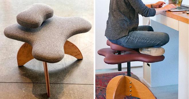 Soul Seat: Chiếc ghế đa-zi-năng cho người thích ngồi xổm, bắt chéo chân và... quỳ - Ảnh 4.