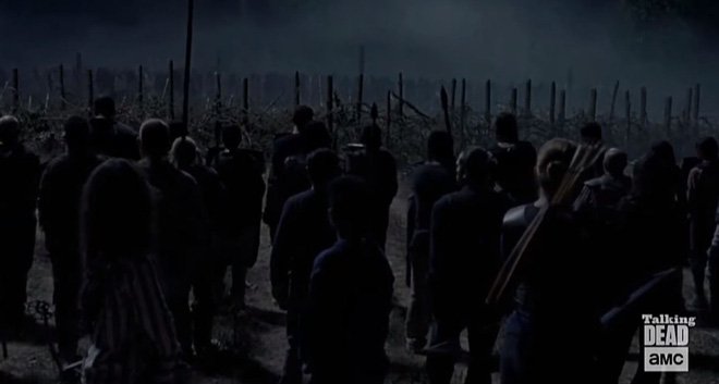 Nổi da gà với trailer mới của The Walking Dead: Sao lại giống trận đánh Night King trong Game of Thrones đến thế! - Ảnh 5.
